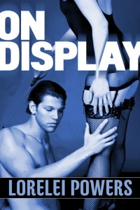 Cover of On Display, erotic stories of queer BDSM by Lorelei Powers