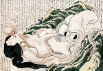The Dream of the Fisherman's Wife by Hokusai